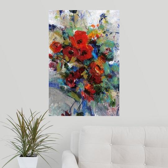 Splash Colorful Room Wall: Poster Print Wall Art Entitled Splash Of Color II