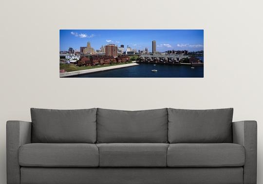 Poster Print Wall Art Entitled Buffalo Ny Ebay