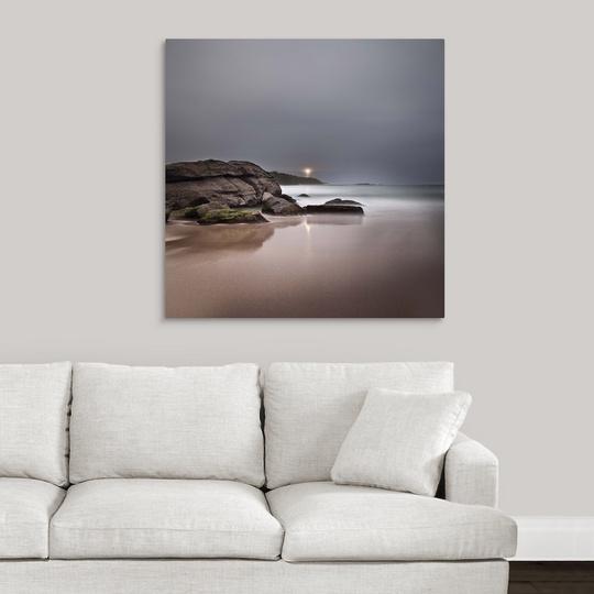 Premium Thick-Wrap Canvas Wall Art Entitled Light Through
