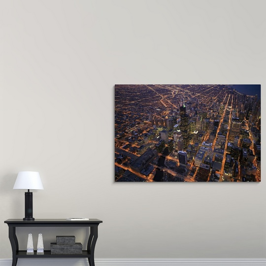 Sears Wall Decor Art : Premium thick wrap canvas wall art entitled sears tower