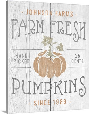 Farm Fresh Pumpkins