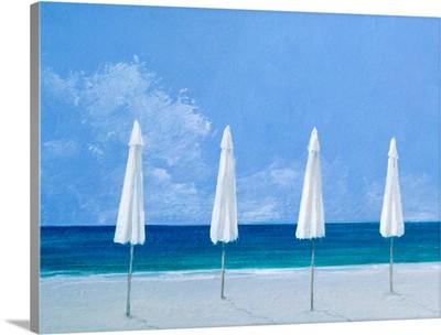 Beach umbrellas, 2005