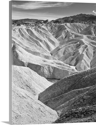 Zabriskie Point, located in Death Valley National Park