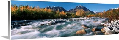 Granite Creek In Autumn, Southcentral, Alaska
