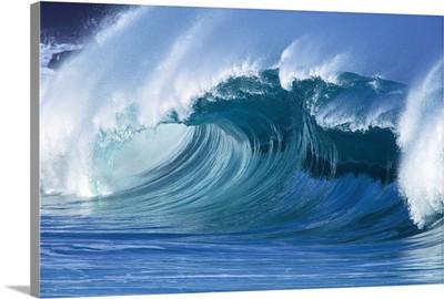 Hawaii, Large Wave Curling