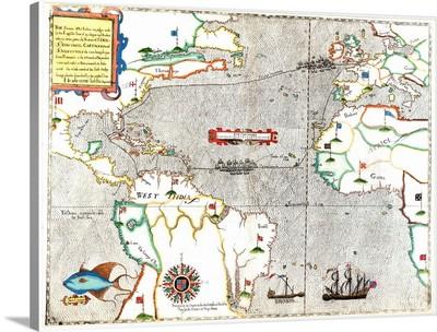 Sir Francis Drake's voyage 1585-1586