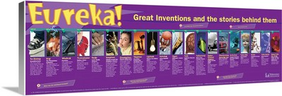 Great Inventions Educational Poster