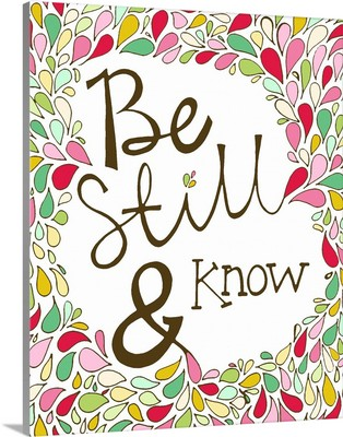 Be Still And Know Bible Verse