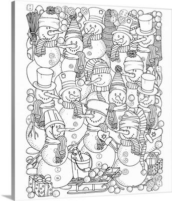 Snowman Parade