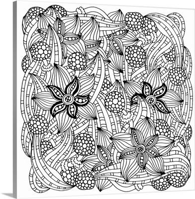 Starfish and Flowers