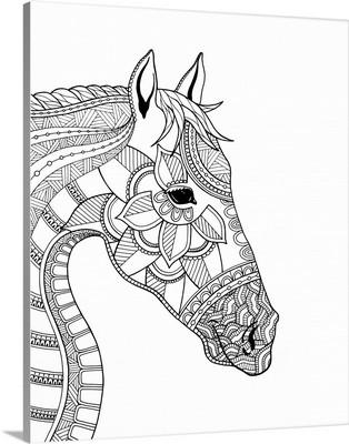 BW Horses Head