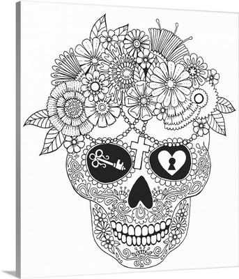 Lost Love Sugar Skull