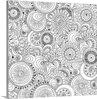 Flowers and Circles I