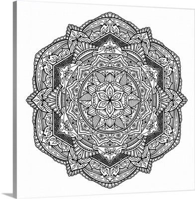 Digital Mandala IX