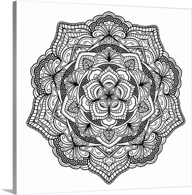Digital Mandala X