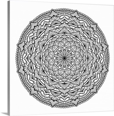 Digital Mandala XIII