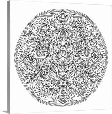 Digital Mandala IV