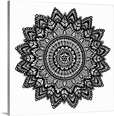 Hand Drawn Mandala I