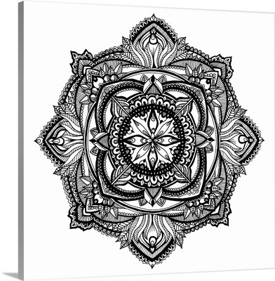 Hand Drawn Mandala V