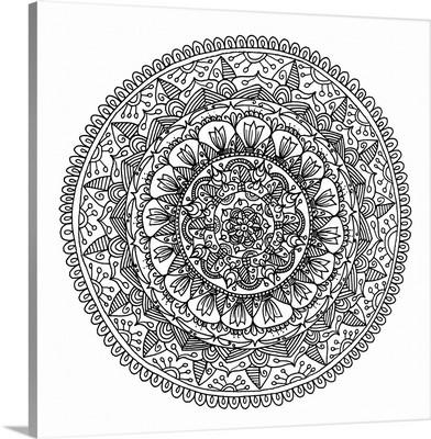 Hand Drawn Mandala VI