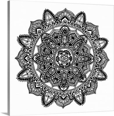 Hand Drawn Mandala VII