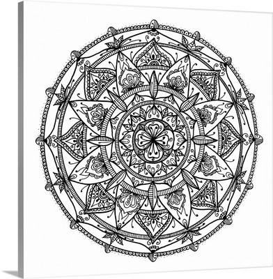Hand Drawn Mandala VIII