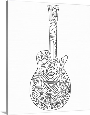 Pop Art Guitar II
