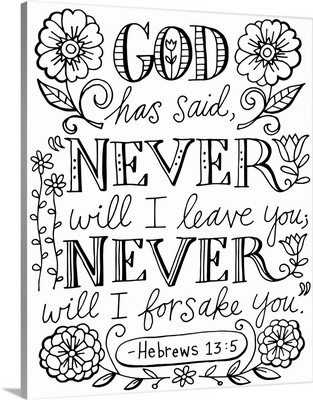 Never Will I Forsake You