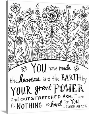 You have made the Heavens and the Earth