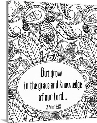 Grace and Knowledge