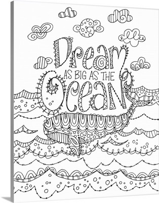 Color Me - Dream As Big As The Ocean
