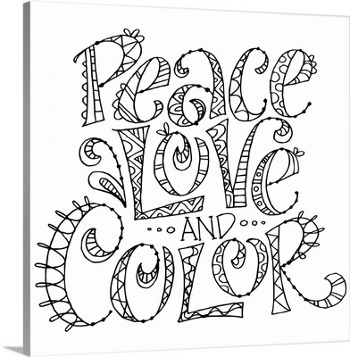 Color Me - Peace Love and Color