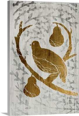 Partridge in a Pear Tree - Gold Leaf Holiday