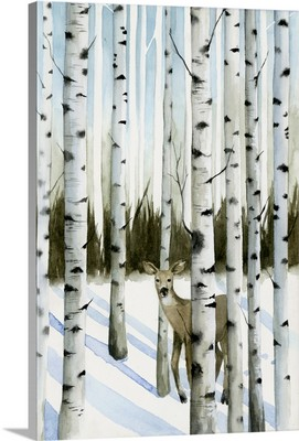 Deer in Snowfall II