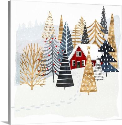 Christmas Chalet I