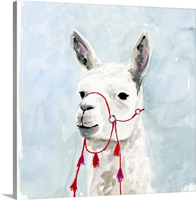 Watercolor Llama II
