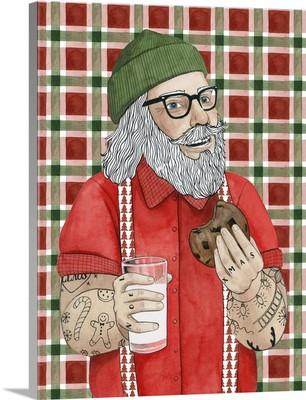 Hipster Santa I