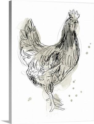 Feathered Fowl I