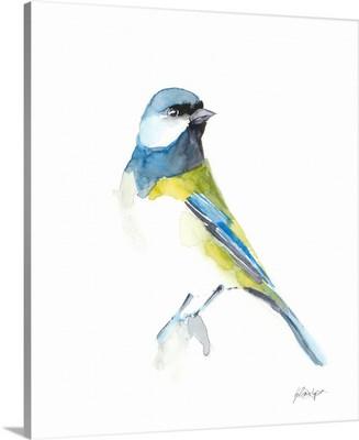 Watercolor Songbirds I