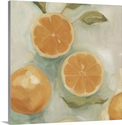 Citrus Study in Oil I