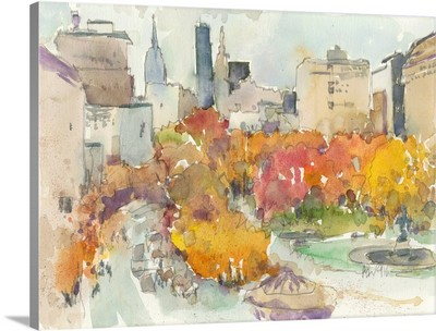 Autumn In New York - Study III