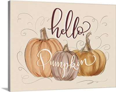 Hello Pumpkin Card