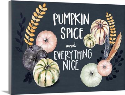 Harvest Blue Pumpkin I