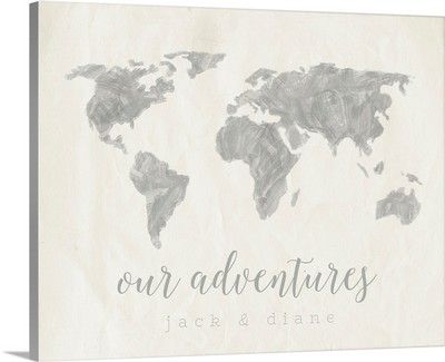 Our Adventures Travel Map