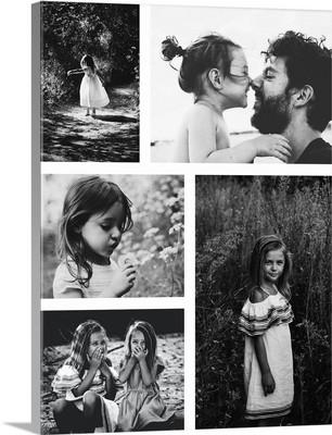Photo Collage White