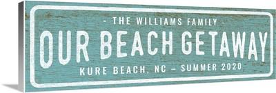 Our Beach Getaway