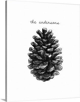 Charcoal Pinecone