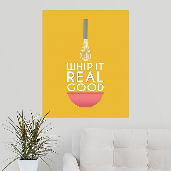Whip it Good | Kitchen Wall Art - Canvas On Demand®